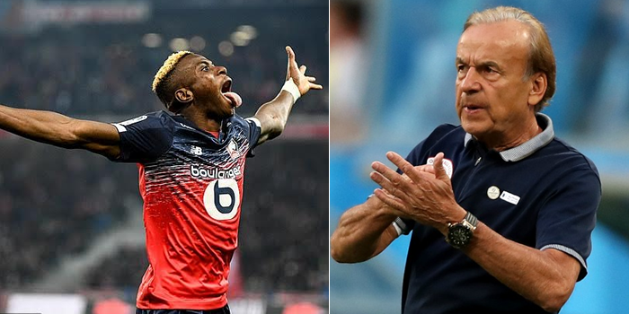 Gernot Rohr Cautions Victor Osimhen Over Joining the PL