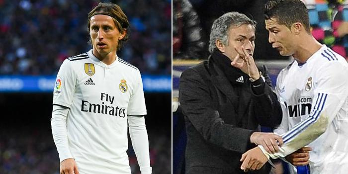 Luka Modric narrates how Mourinho almost made Cristiano Ronaldo cry at Real Madrid