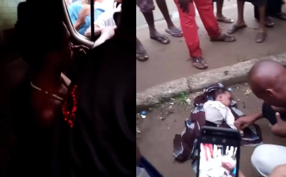 Mad man caught with dead baby in Aba