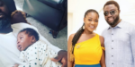 Mercy Johnson's husband, Prince Odi show off daughter on daddy duty