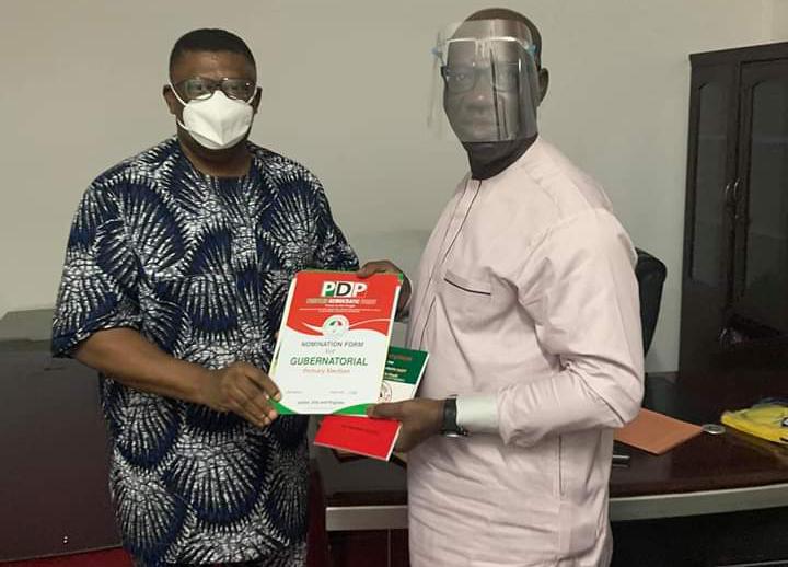 Obaseki obtains PDP nomination, expression of interest form