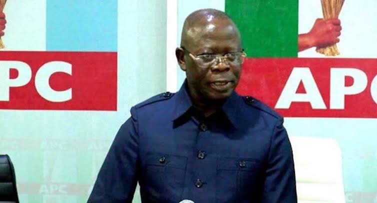 Oshiomhole remains suspended, ward chairman Oshawo insists