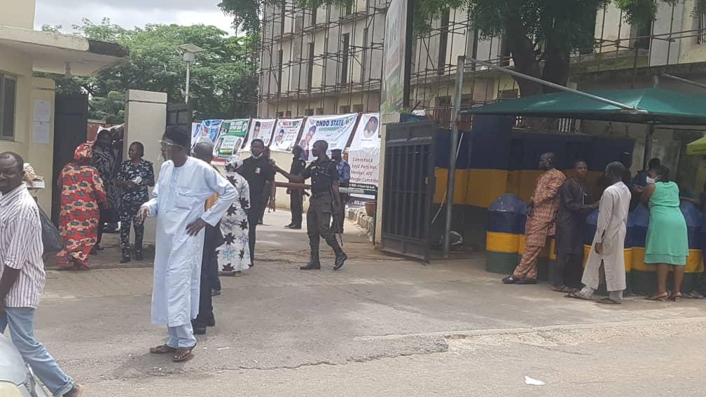 APC National Secretariat sealed by Police
