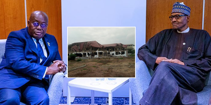 Demolished buildings: Ghanaian president Akufo-Addo apologises, suspects arrested