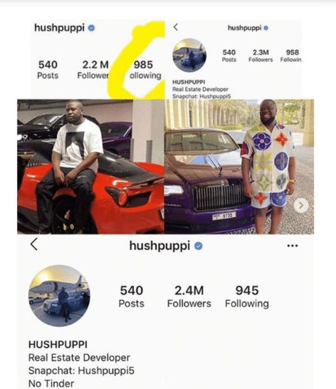 Hushpuppi gains over 200K followers since his arrest for alleged fraud