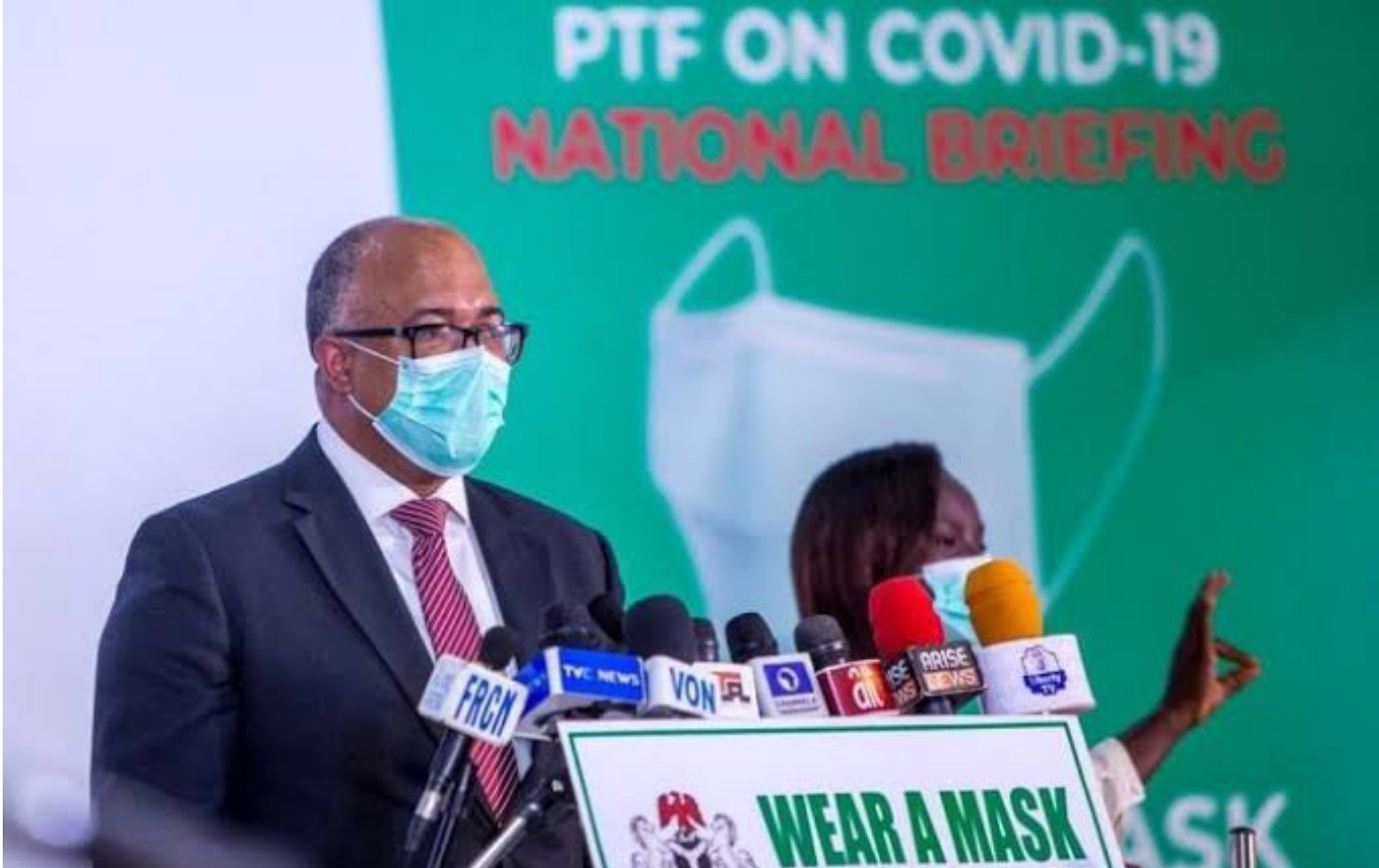 No evidence that face shield protects against Coronavirus, says NCDC
