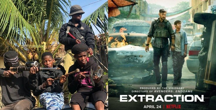 Extraction 2: Russo Brothers invite Ikorodu Bois to premiere of Hollywood movie