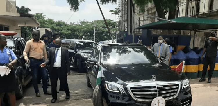 Police unseal APC National Secretariat as Buni takes over