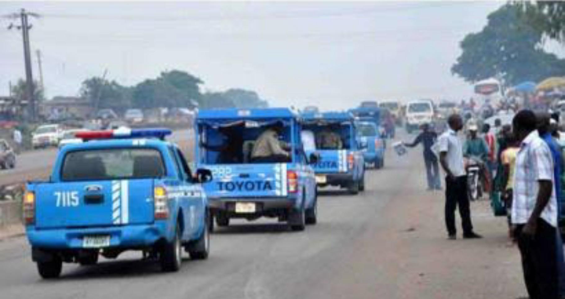 FRSC returns money to accident victim's family in Kogi