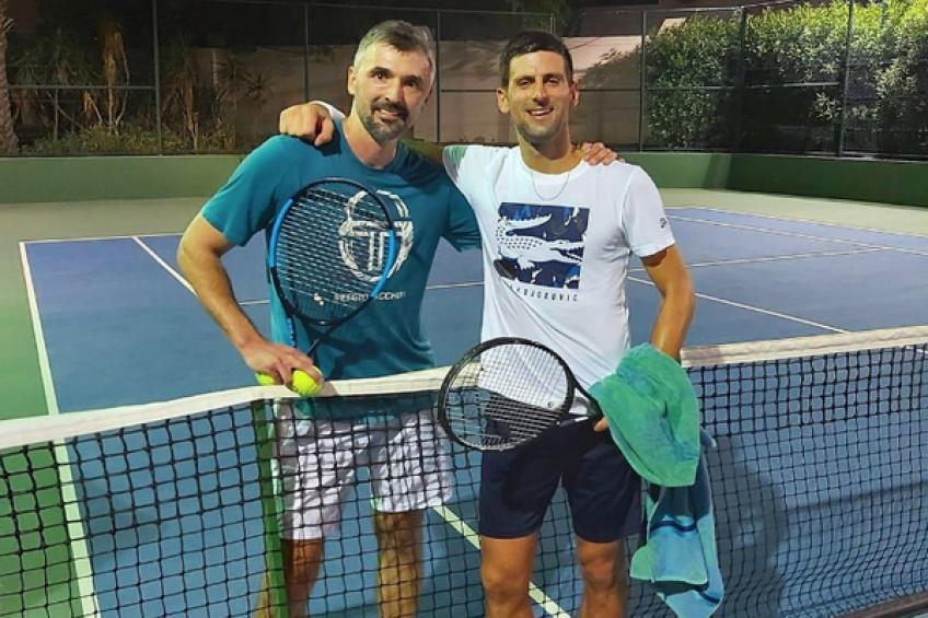 Novak Djokovic's coach Goran Ivanisevic tests positive for coronavirus