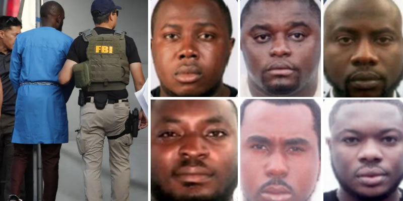 FBI declares 6 Nigerians wanted in US over $6m alleged fraud