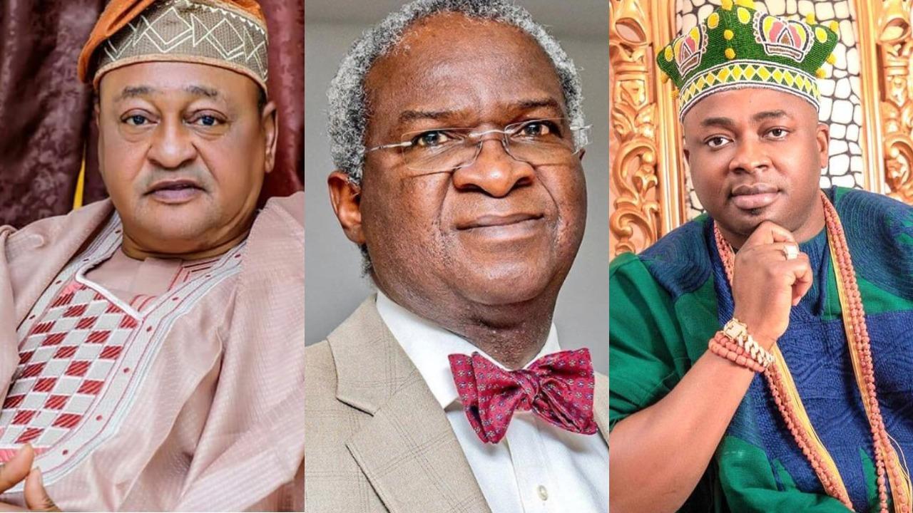 Actor, Jide Kosoko, Oba Elegushi and others celebrate Ex Governor, Babatunde Fashola as he clocks 57