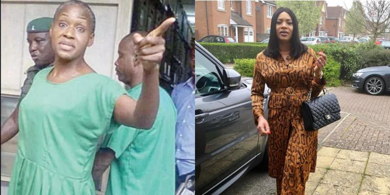 Adetutu Balogun drags Kemi Olunloyo, calls her a 'poverty-stricken beggar'
