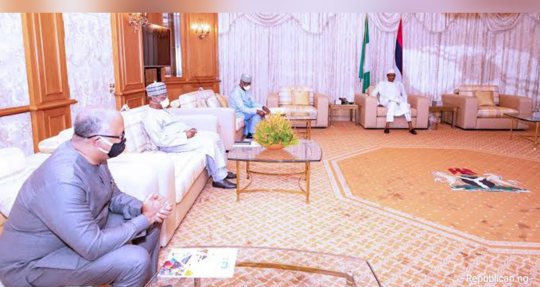 COVID-19: PTF meets Buhari Monday for review