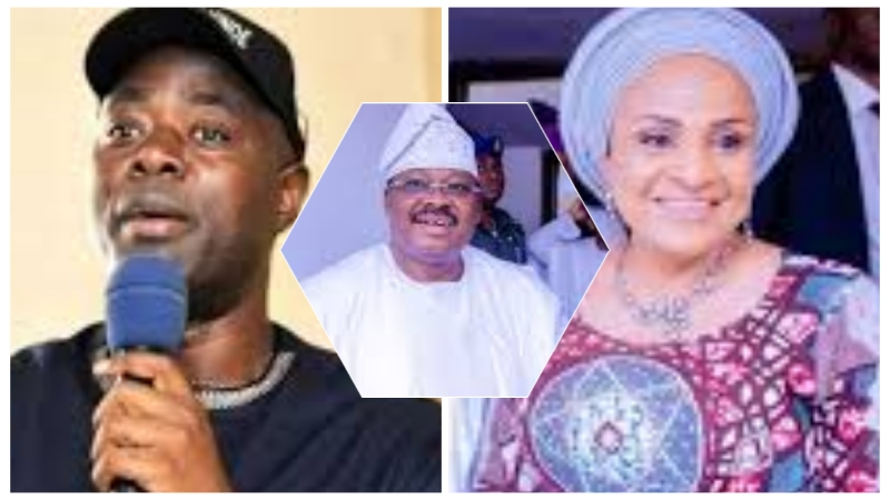 VIDEO: Ajimobi's wife fires Oyo Governor, Makinde, says her husband deserves better