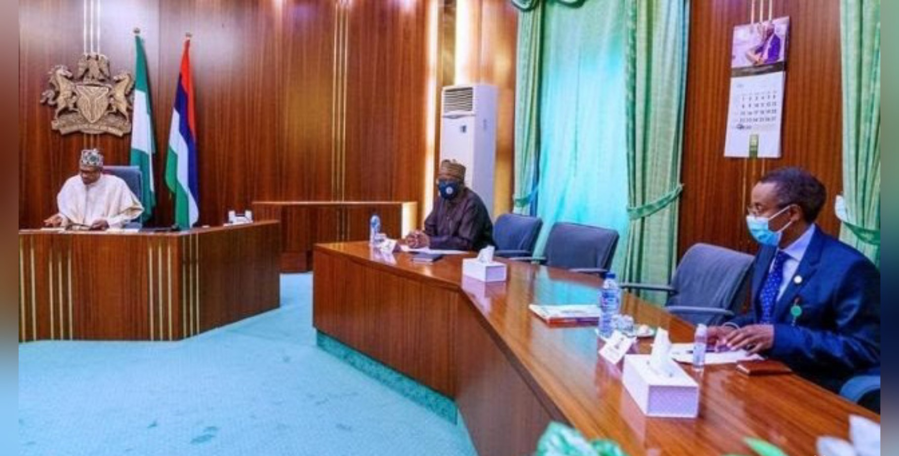 Buhari receives briefing from PTF on COVID-19