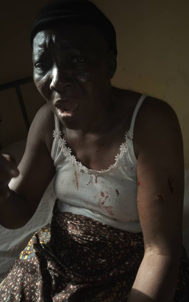 PHOTO: NSCDC officer, brother accused of brutalising a grandmother and her daughter