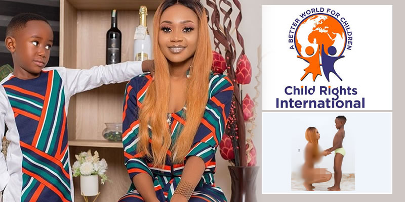 Child Rights International petitions Ghana Police to probe actress Akuapem Poloo's nude photo with her son