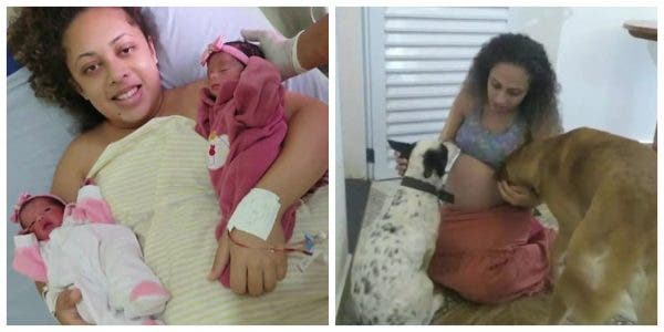 Family dog mauls newborn twin to death after mom waited 9 years to have them