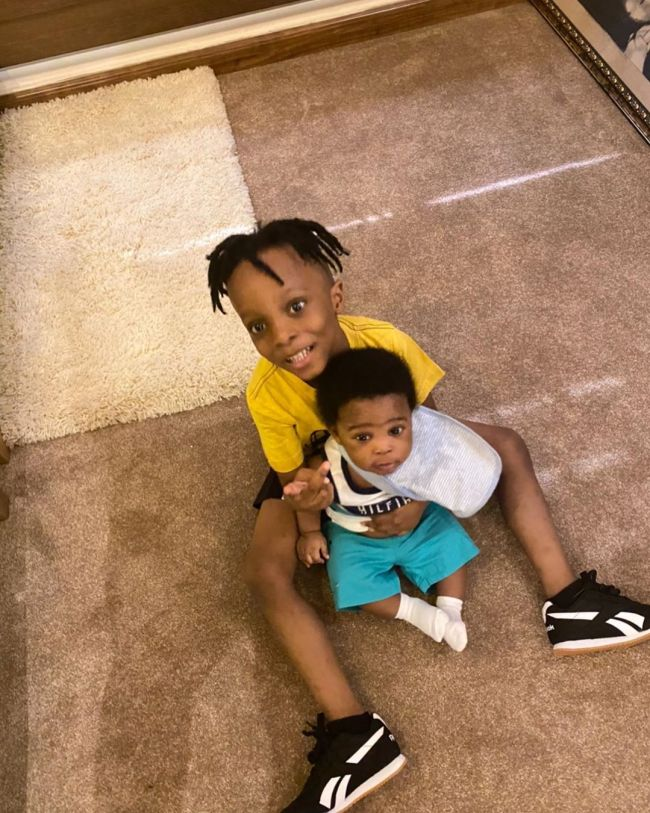 Olamide Gushes Over Second Son, Tunre As He Celebrates His First Birthday