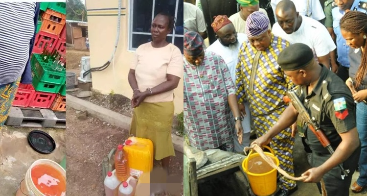 Police discover Lagos well where residents siphon, sell petroleum products