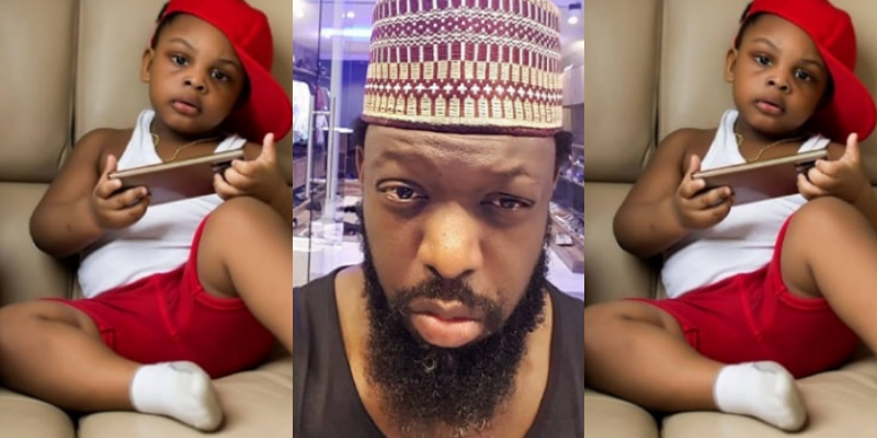 Timaya celebrates his son, Mani as he marks 2nd birthday (Photos)
