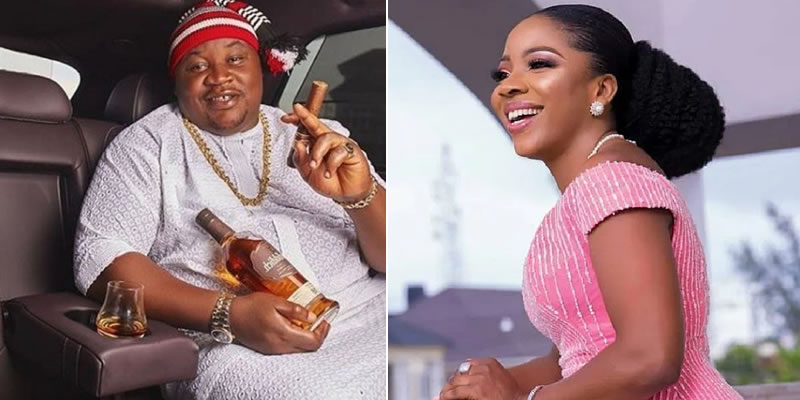 Cubana Chief Priest, Sandra ikeji trade words as he accuses her husband of 'sipping free drinks' in his club