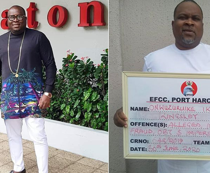 "EFCC Nabs Social Media Big Boy ""Nwata Anayo Eze"" For $8.5 million alleged Scam"