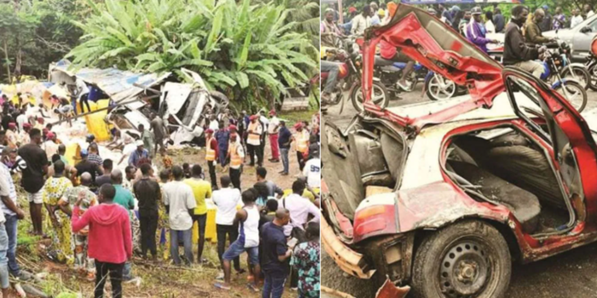 Four dead, others injured as truck suffers brake failure and rams ...