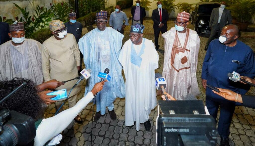 APC caretaker committee meets Tinubu