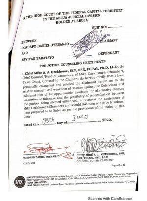 D'banj sues rape accuser, Seyitan Babatayo for N1.5 billion