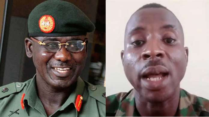 Nine days after, army releases wife of detained soldier who criticised Buratai