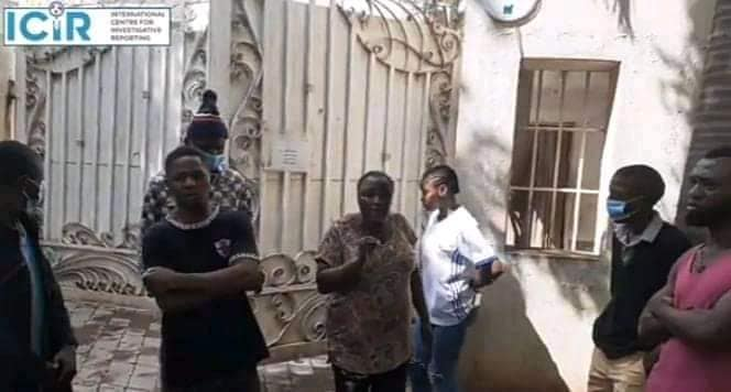 Photos: Chinese couple lock up eight Nigerian employees for four months