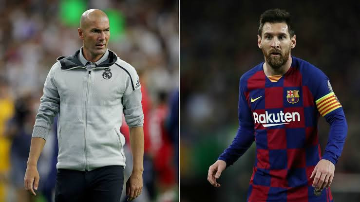 Zidane reacts to news Lionel Messi could leave Barcelona