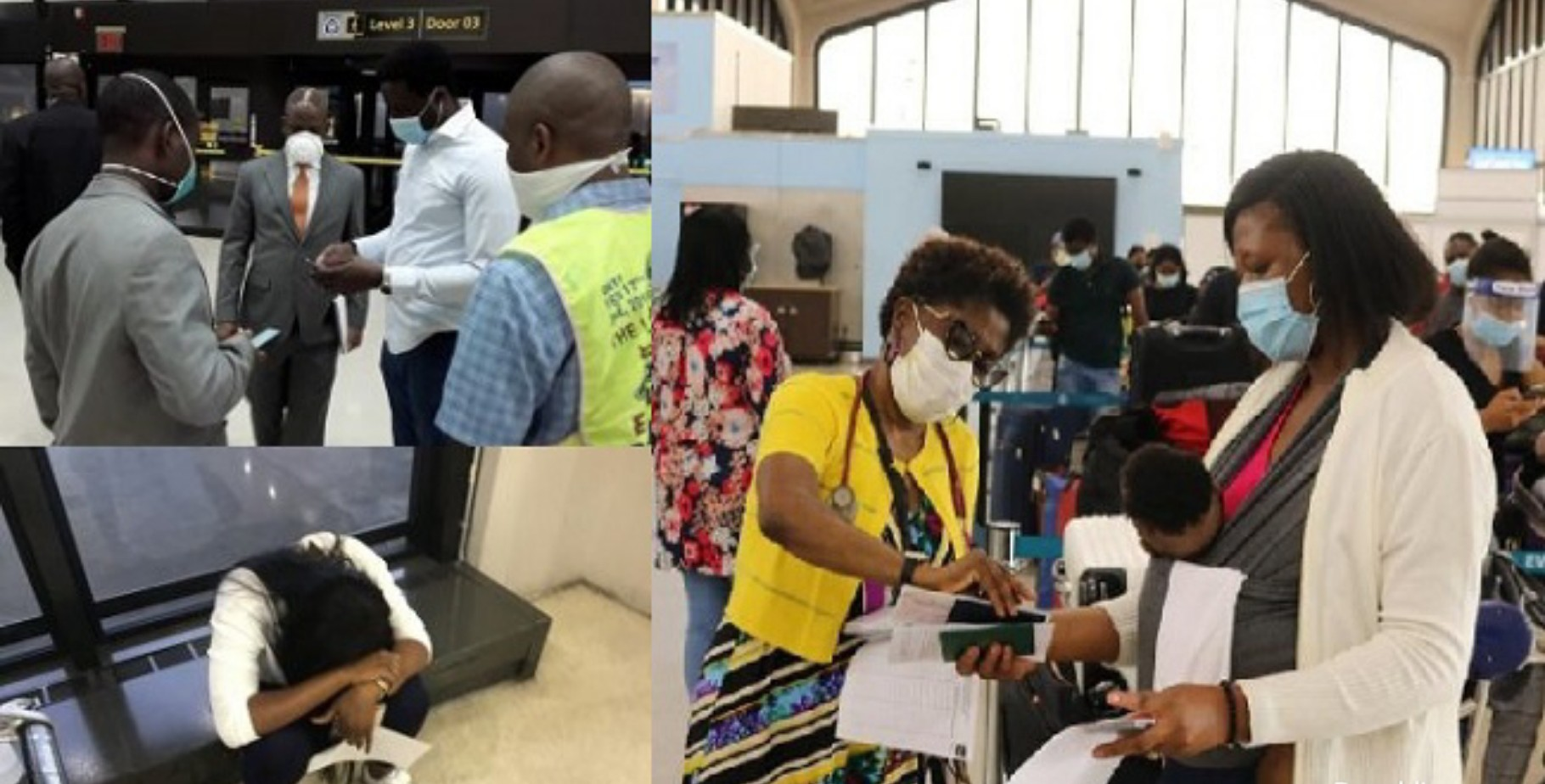 Nine Nigerians miss evacuation from US after breaching COVID-19 guidelines