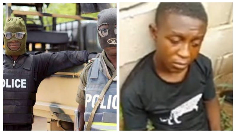 SARS officers arrest cultists who killed man in a gory video that went viral on social media