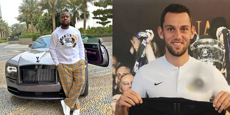 How Serie A team allegedly paid Stefan De Vrij's transfer fee into Hushpuppi's account in 2018