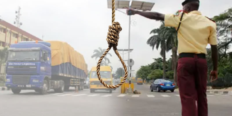 LASTMA official allegedly commits suicide after stabbing lover