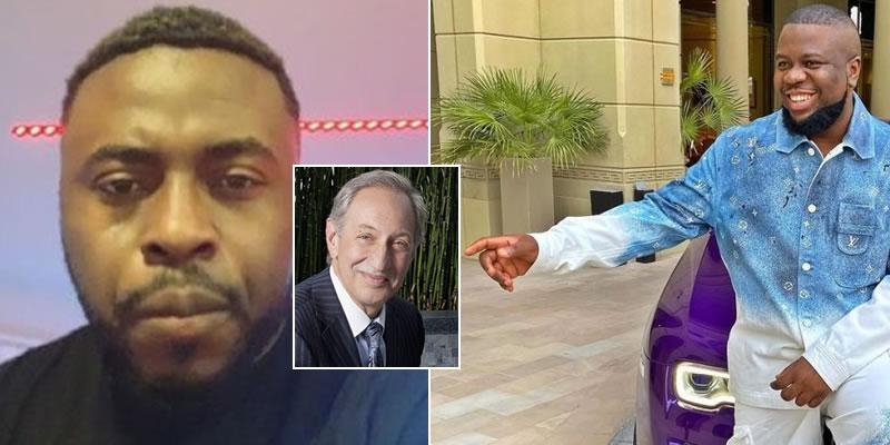 Micheal Jackson ex lawyer, Mark Geragos to defend Hushpuppi, Popular producer Samklef reveals