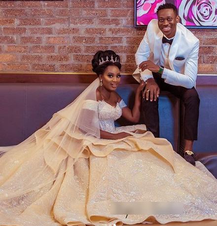 Nollywood celebrities, Lateef Adedimeji and Adebimpe Oyebade shocks many with their wedding photos