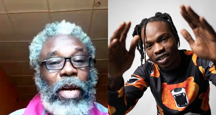 Naira Marley Dashes Grandpa N1million For Singing His Song From Start To End