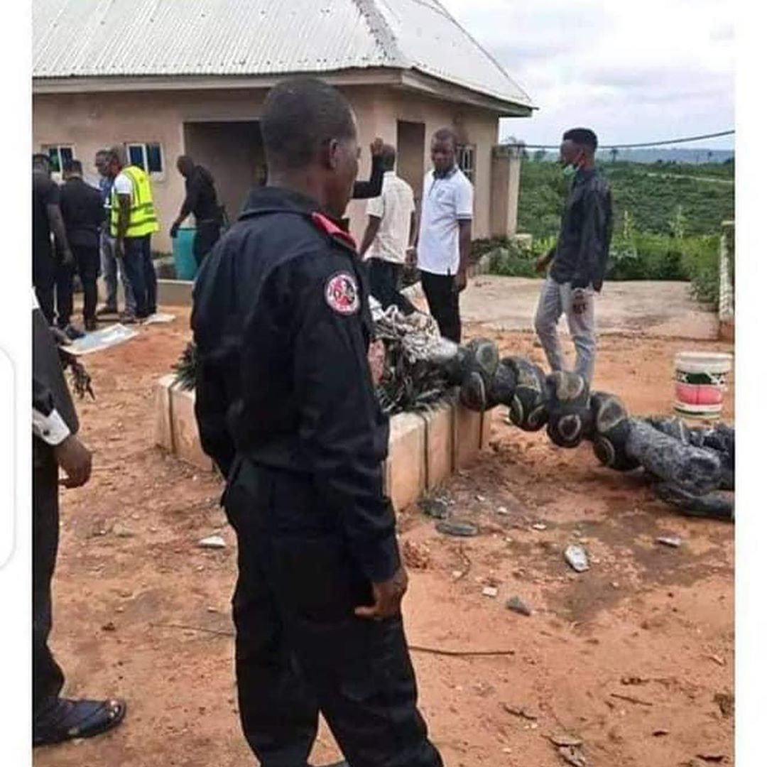 Church of Satan at Ohafia, Abia State destroyed and founder reportedly arrested