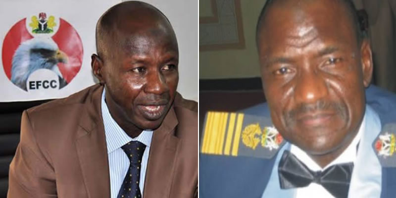 BREAKING: EFCC picks Director of Operations, Mohammed Umar to replace Magu