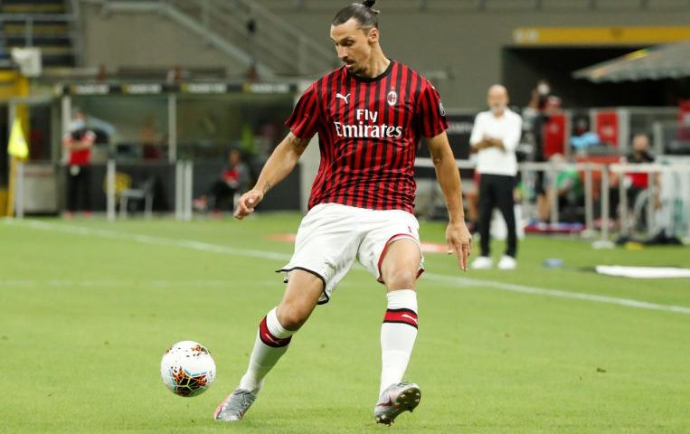I'm president, coach and player in AC Milan, Zlatan Ibrahimovic declares