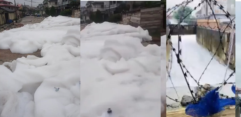 VIDEO: Lagos Govt reacts as 'white fumes' cause panic at Anthony village