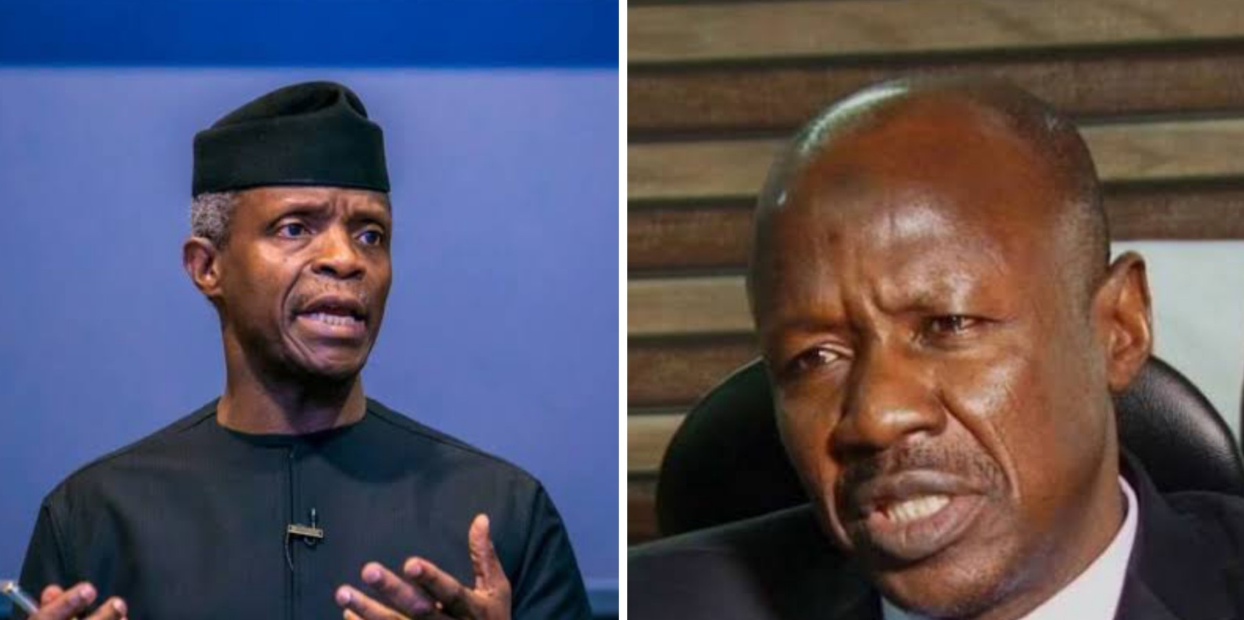 VP Osinbajo denies receiving N4billion from Magu