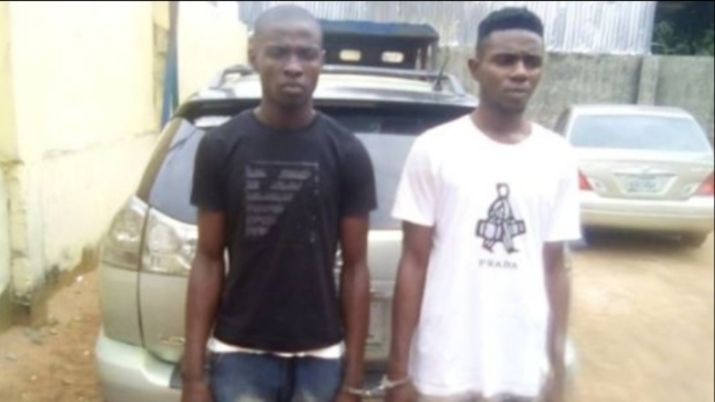 Police arrest robbers who kill middle-aged man and steal his Lexus SUV in Anambra