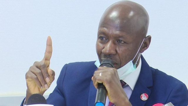 Magu reportedly shuns police cell, sleeps in mosque