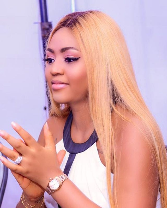 Regina Daniels shares official photos from baby's naming ceremony
