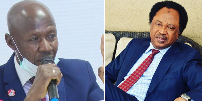 Shehu Sani Mocks Magu Over Letter To IGP, Asking For Bail